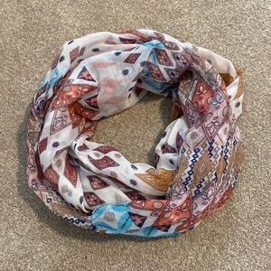 Nordstrom B.P. Patterned Infinity Scarf